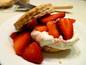 strawberry lime shortcakes   The Baking Fairy