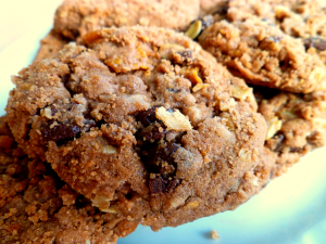 chocolate cowgirl cookies | The Baking Fairy