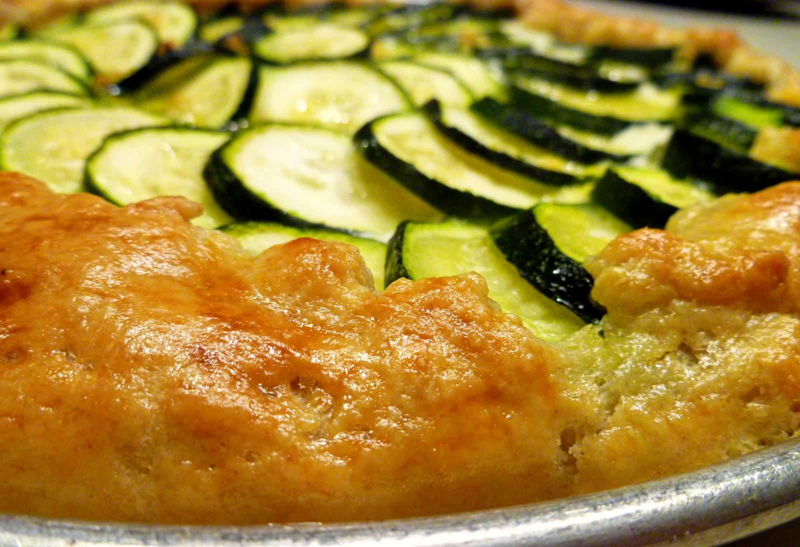 Zucchini Ricotta Galette The Baking Fairy