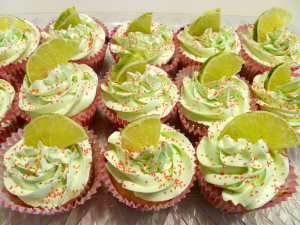 strawberry limeade cupcakes | The Baking Fairy