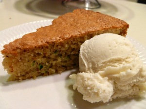 {gluten free} zucchini almond cake | The Baking Fairy
