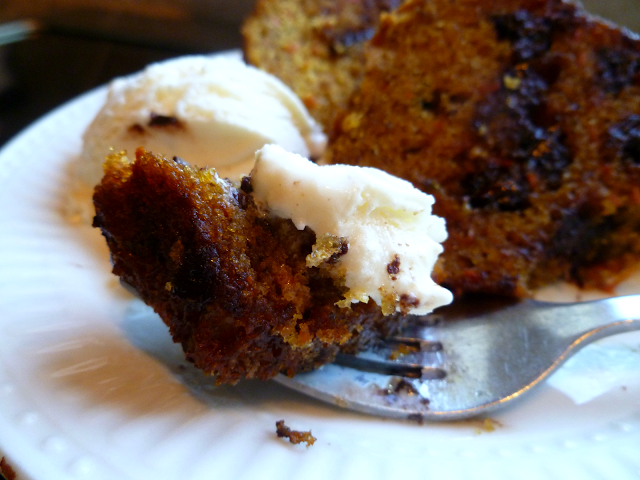 chocolate chip carrot bundt cake | The Baking Fairy
