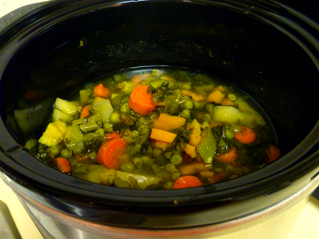 crockpot minestrone | The Baking Fairy