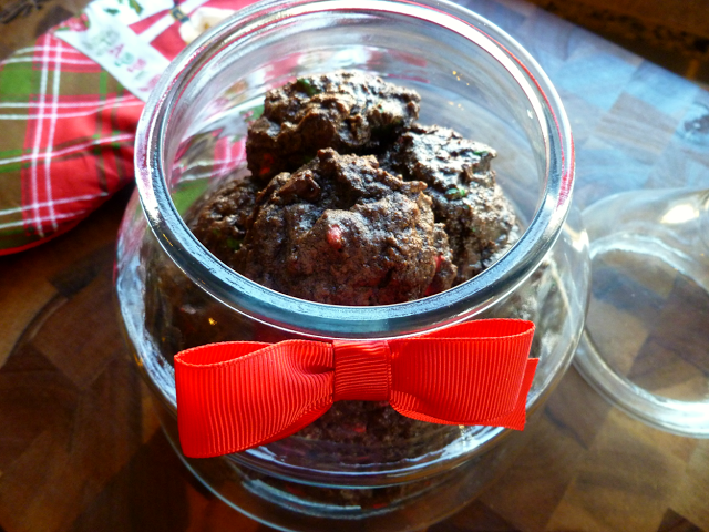 fudgy christmas chip cookies | The Baking Fairy