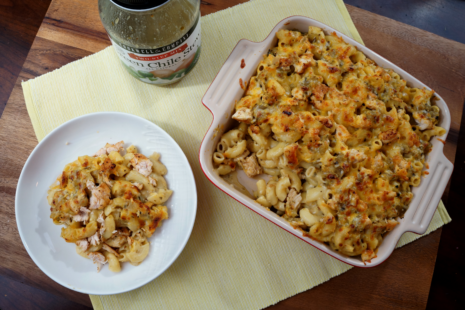 Chicken Green Chile Mac Cheese The Baking Fairy